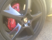 Porsche Factory Rims in Gloss Black